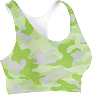 Rainbow Rules Colored Camouflage Sports Bra