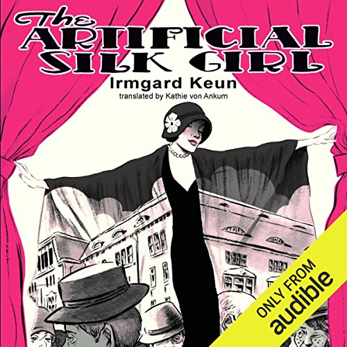 The Artificial Silk Girl audiobook cover art