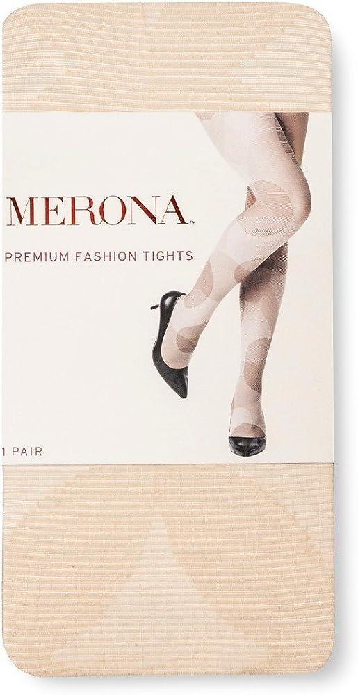 Merona Women's Premium Tights Neutral Geo Print