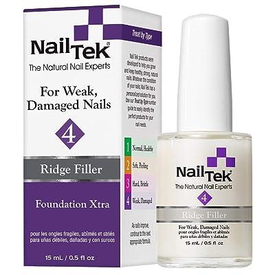 Nail Tek Foundation Xtra 4, Ridge Filling Strengthening Base Coat