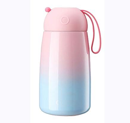Kindergarten BPA Frei Wasserflasche Auslaufsicher 500ml Vakuum Isolierte Edelstahl Trinkflasche Kleinkinder LXXTI Trinkflasche Edelstahl Outdoor Schule B/üro Thermosflasche f/ür Sport Kinder