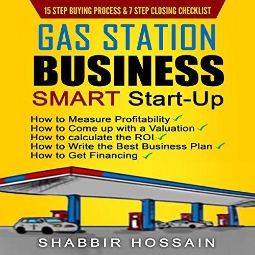 Gas Station Business Smart Start-Up audiobook cover art