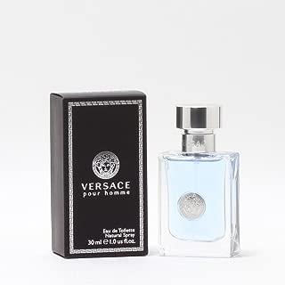 Versace Pour Homme Eau De Toilette Natural Spray 1.0 oz