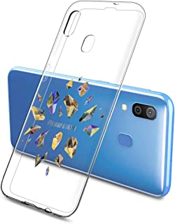 Oihxse Funda Dibujos Diamantes Brillantes Compatible Samsung Galaxy J6 2018 Transparente Silicona TPU Bumper Case Ultra De...