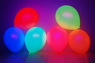 DirectGlow UV Neon Fluorescent Blacklight Reactive Glow Party Balloons (25)