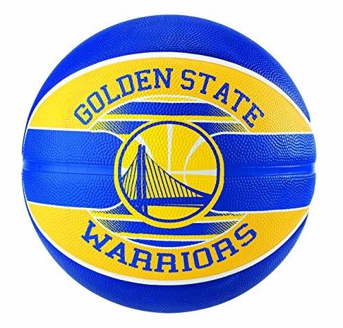 Spalding NBA Team Golden State 83-515Z Balón de Baloncesto, Unisex, Multicolor, 7