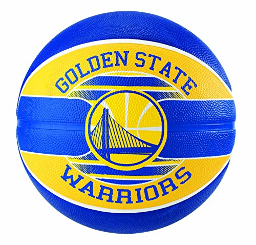 Spalding Uni NBA Team Golden State SZ.7 (83 – 515z) Basketball, Multicolore, 7.0