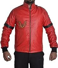 MSHC Smokey and The Bandit Burt Reynolds Red Bomber Leather Jacket