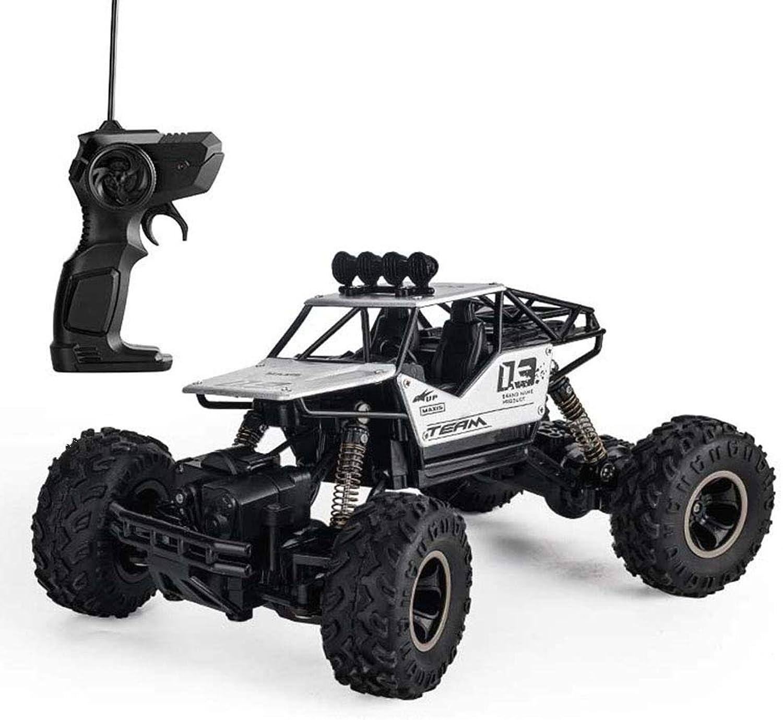 YJF RC Auto Monster Truck 1 16 Skala Off Road Elektrische Schnelle Rennwagen Fernbedienung Truck Hochgeschwindigkeits-ferngesteuerte Hobby Autos für Kinder Erwachsene,Silber B07MGB8Q45 Spielen Sie auf der ganzen Welt und verhindern Sie, dass Ihre Kin