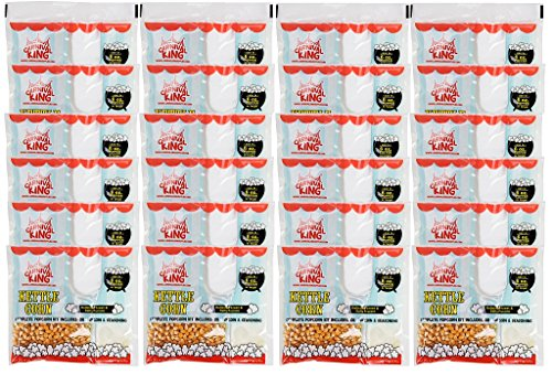 King All-In-One Kettle Corn Popcorn Kit for 6.1 oz. Popper - 24 Case