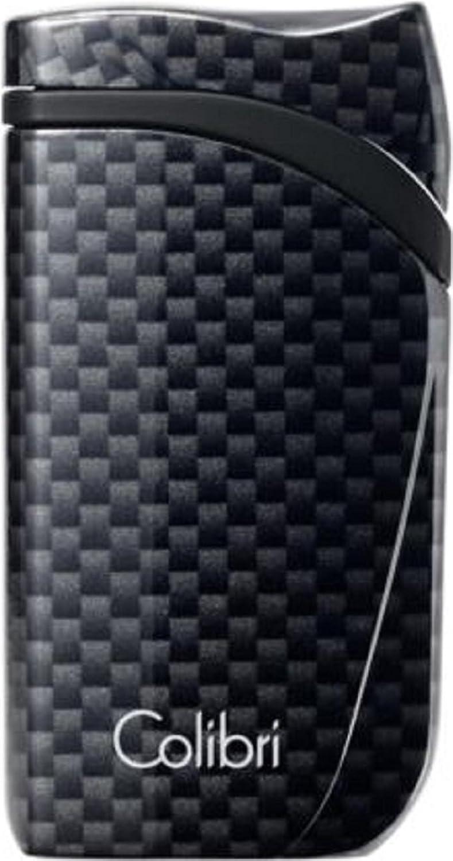 COLIBRI Feuerzeug FALCON II Carbondesign schwarz schwarz schwarz Jet mit Schrägflamme B075XR8H1P 53fc24