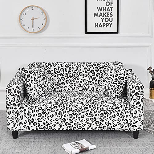 WXQY Funda de sofá Floral elástica Funda de sofá de Sala de Estar Moderna, Esquina, Chaise Longue, Protector de Silla, Funda de sofá Todo Incluido A18 1 Plaza