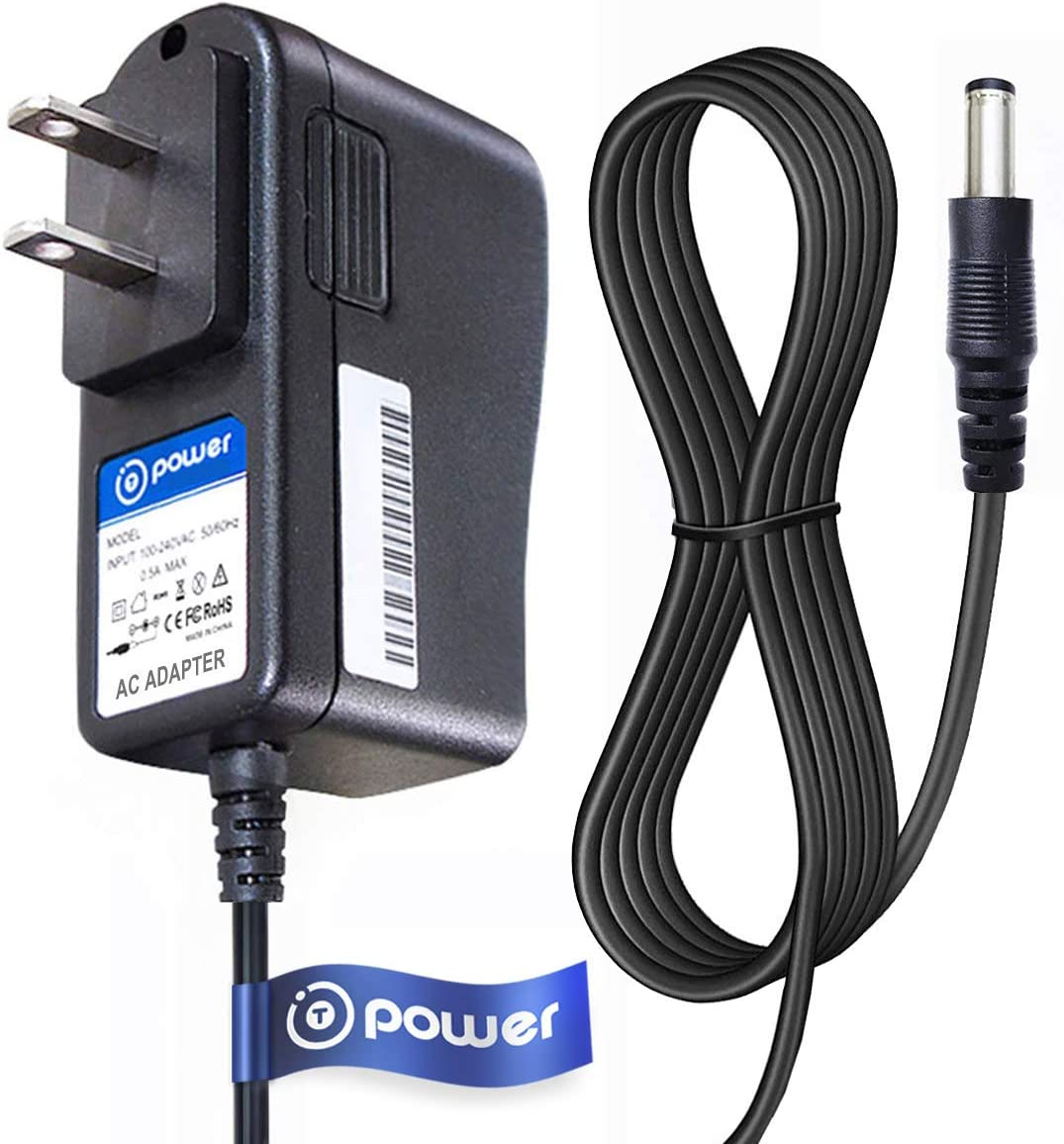 Outlet SALE T-Power 9vdc 6.6ft Long Cable gift Compatible wi Charger AC Adapter