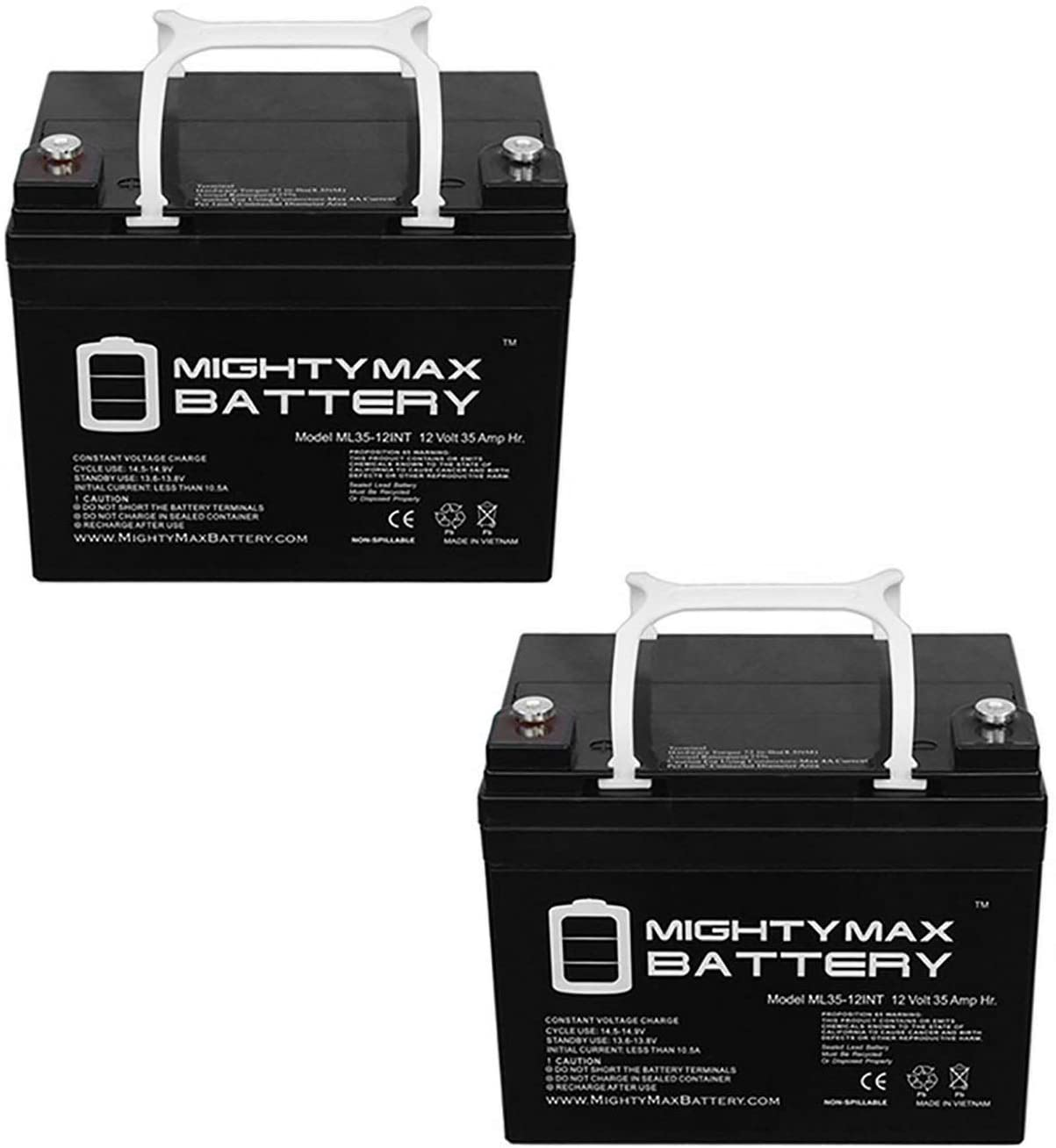Mighty Max Battery mart 12V 35AH INT Replaces SLA C.T.M. Mobi New Shipping Free Shipping