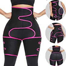 $24 » YunZyun Booty Hip Enhancer Invisible Lift Butt Lifter Shaper Waist Trainer Thigh Trimmers for Women Belt Burst Into Sports Adjustable Siamese Girdle Body