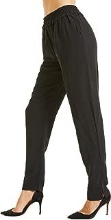 SONJA BETRO Amazon Brand Women's Elastic Pull-on Pants Plus Size