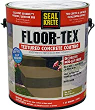 Seal-Krete 462701 Floor-Tex Textured Concrete Coating Wicker Brown gal
