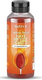 SWEET CHILI Sauce ohne Zucker & Fett - nur 1 Kalorie pro Portion Chilisauce - vegane Soße light, süß und scharf - Low Calorie  no sugar Chilisoße - Zuckerfrei und fettfrei
