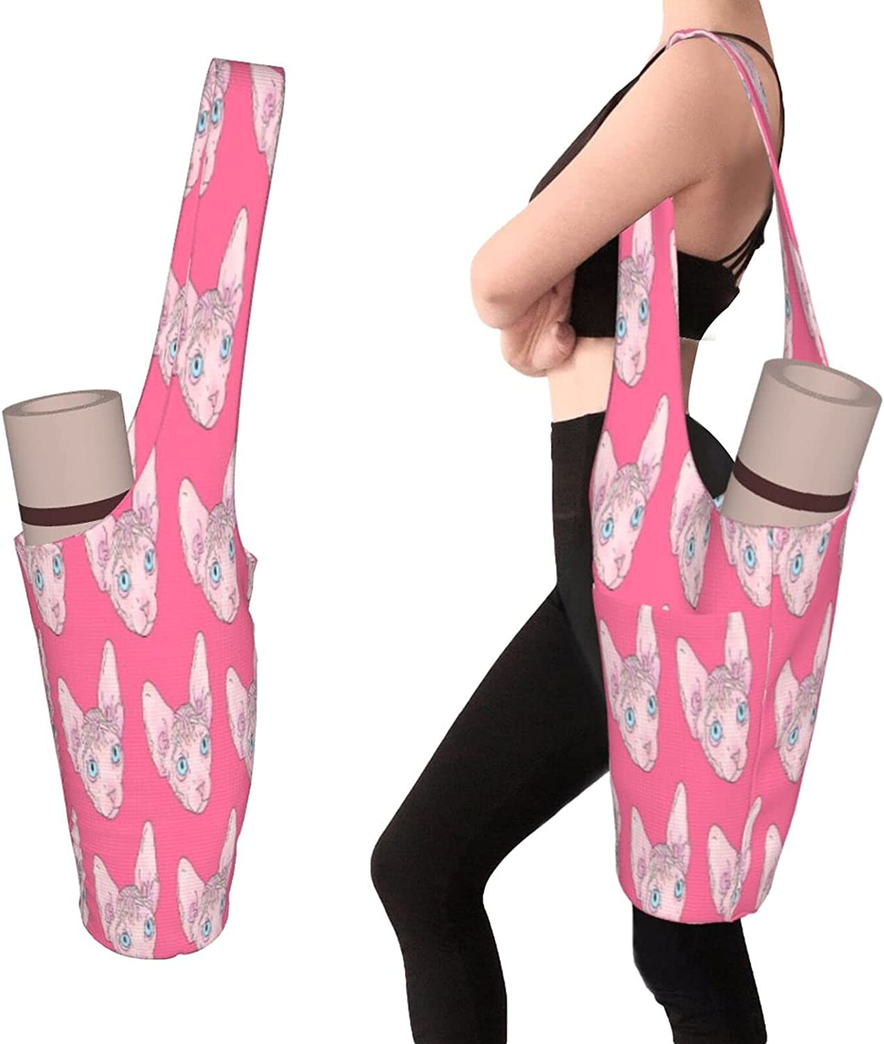 Over item handling ☆ Yoga Mats Bag With Pockets Size Large Thick free shipping Men Access