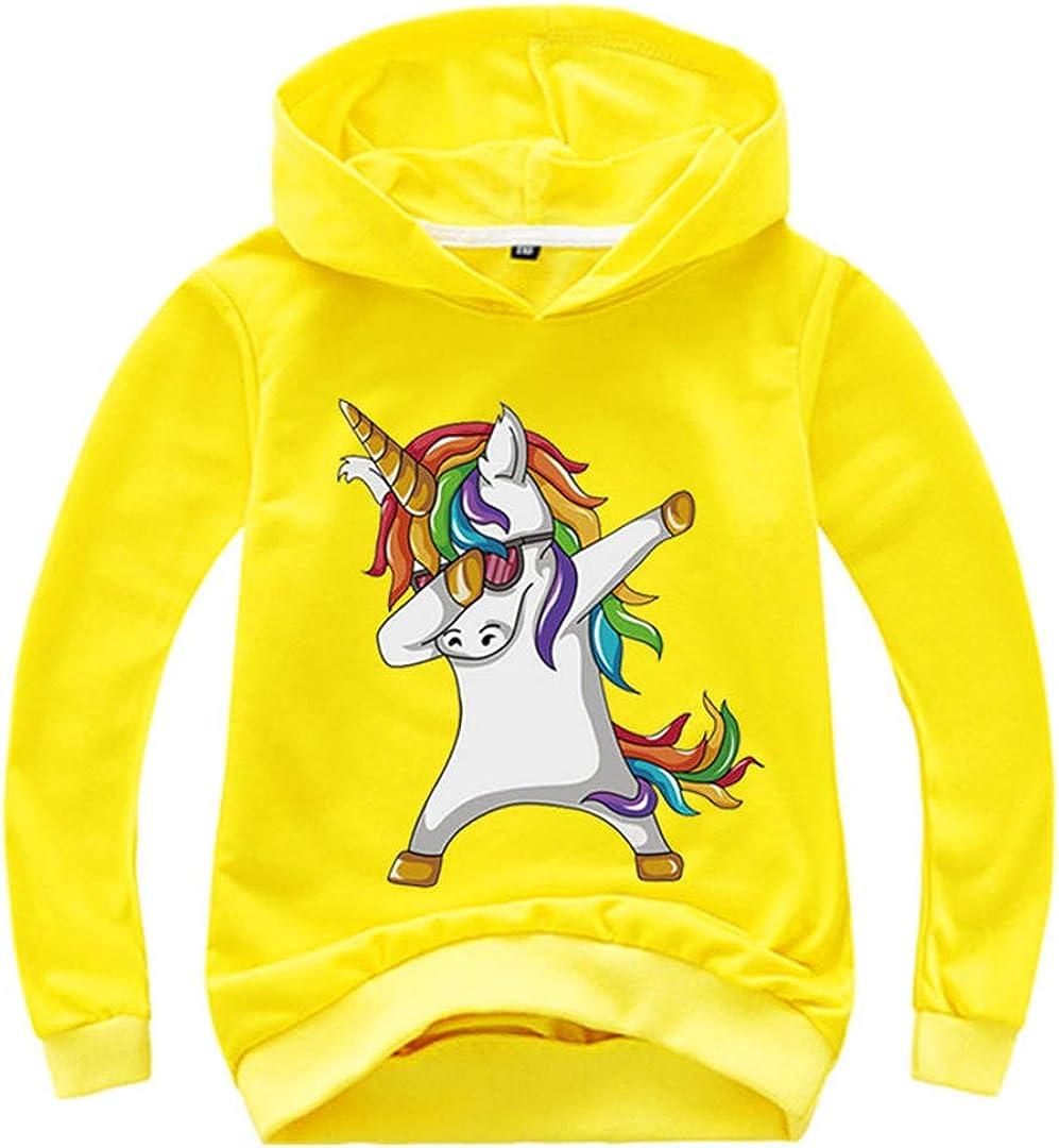 Children Hoodies Boys Girls Funny Sweatshirts Unicorn Kids Pullovers Tops