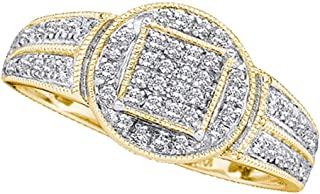 Best pave diamond cocktail ring Reviews