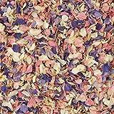 1 Liter Natürlich Getrocknet Gemischt Rittersporn Blüten Hochzeit Konfetti