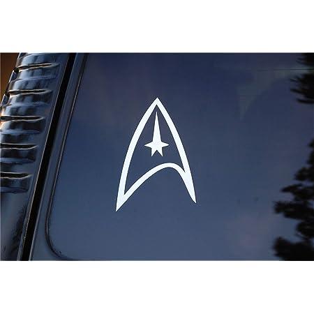 Wandtattoo Schlafzimmer Auto Aufkleber Auto Aufkleber Star Trek Starfleet Sticker Aufkleber 5 X 3 25 Baumarkt