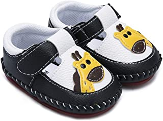 Yunten Baby Boys Girls Cartoon Crawling Slippers Soft Moccasins Toddler Infant Summer Sandal Crib Pre-Walkers First Walkers Shoes
