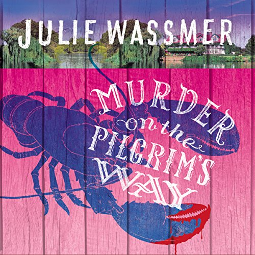Murder on the Pilgrims Way audiobook cover art