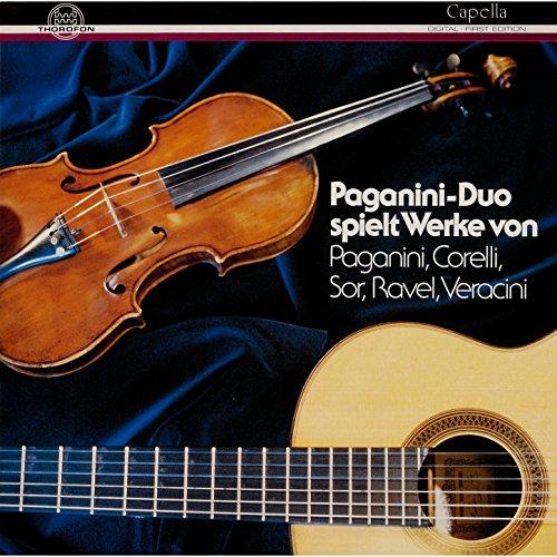 Große Sonate für Gitarre mit Begleitung einer Violine in A Major