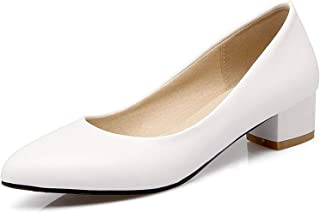 Surprise S Square Low High Heel Shoes Women Pumps Office Career Shoes Low High Heels