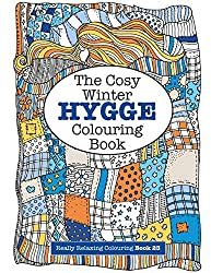 Cosy winter hygee colouring book