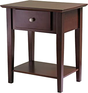 Winsome Wood 94922 Shaker Accent Table Antique Walnut (Renewed)