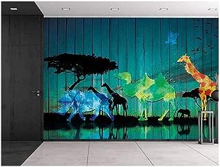 Best safari silhouette mural Reviews
