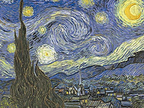 Buffalo Games Signature Series, Starry Night - 1000pc Jigsaw Puzzle by Buffalo Games
