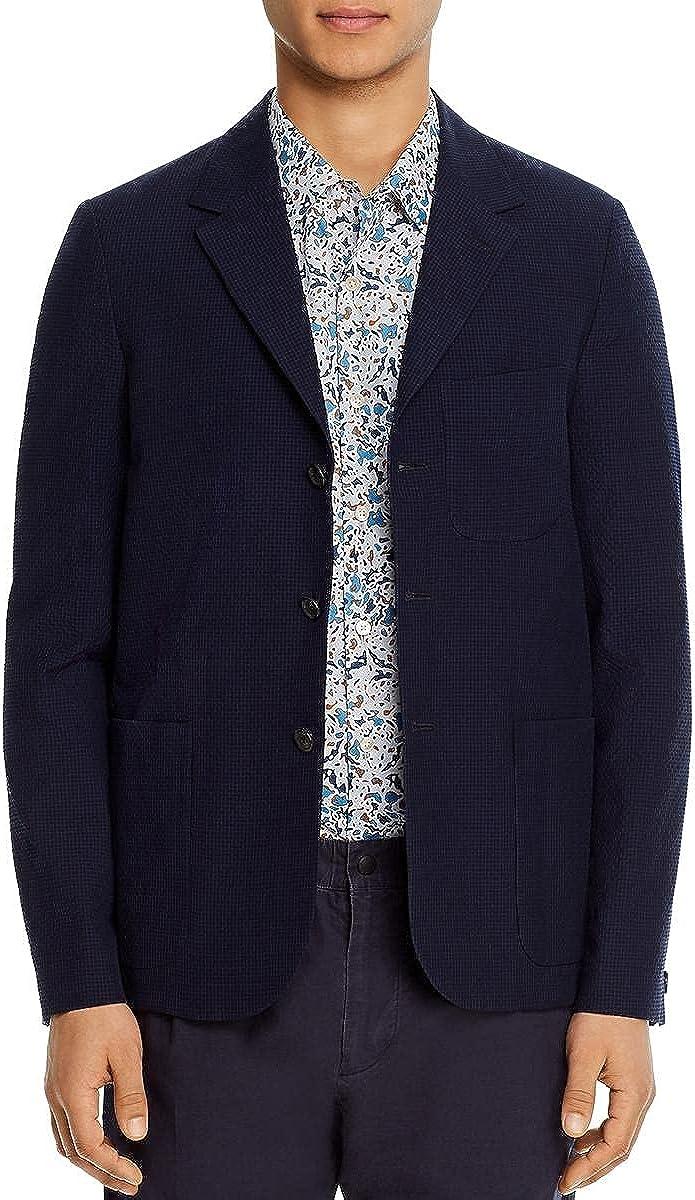 Paul Smith Mens Wool Blend Regular Fit Three-Button Blazer