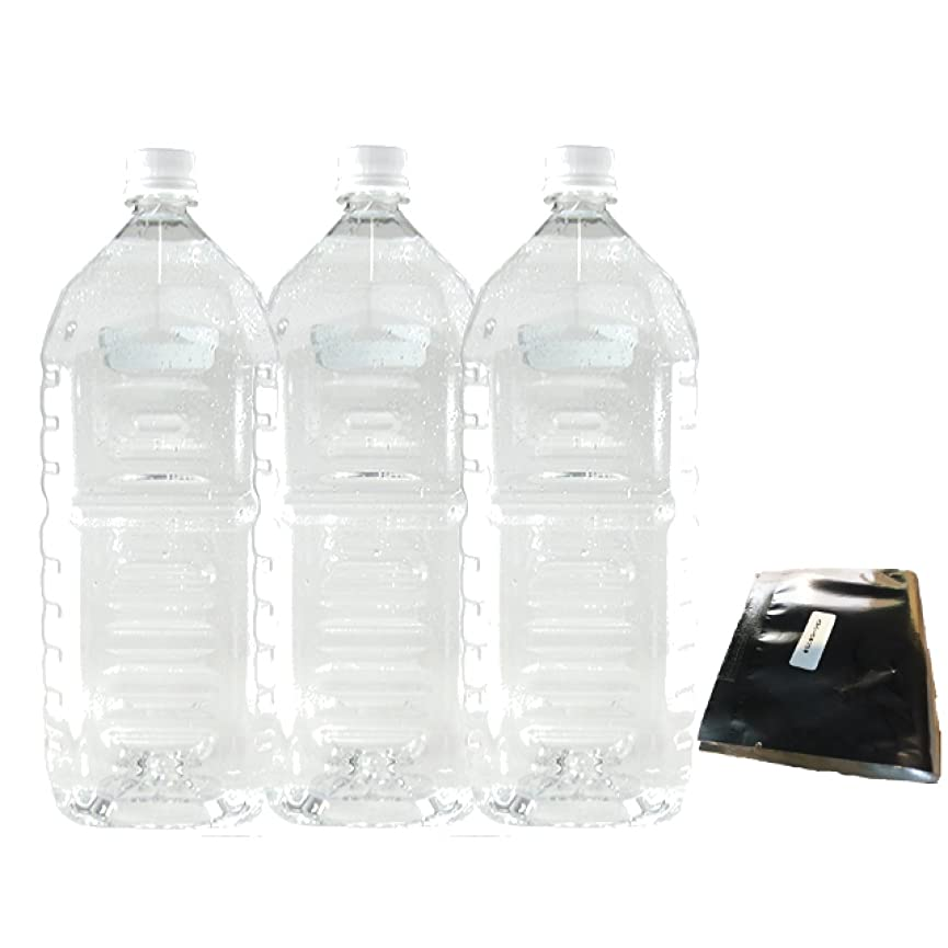充実穴カポックお徳用クリアローション 2Lペットボトル ハードタイプ(5倍濃縮原液)【3本セット+★ミニ★ローション付】