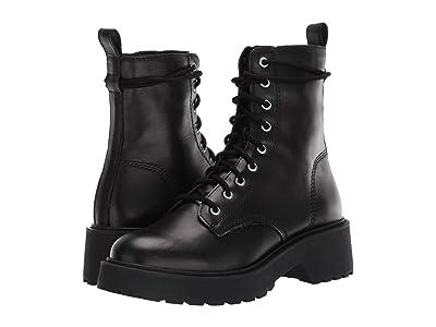 Steve Madden Tornado Boot (Black Leather) Women