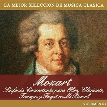 Mozart: Sinfonía Concertante para Oboe, Clarinete, Trompa y Fagot en Mi Bemol