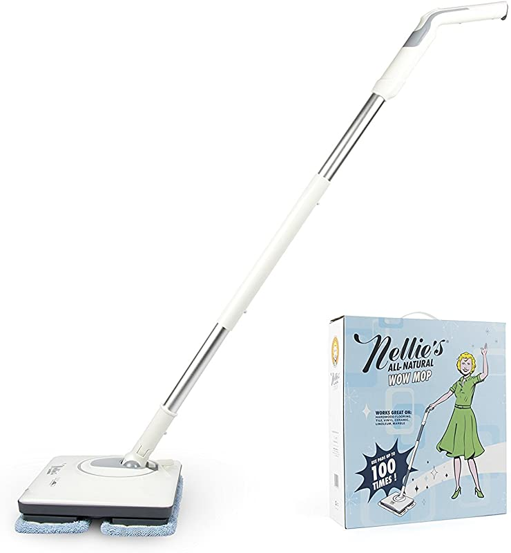 Nellie S Wow Mop Cordless Light Weight And Rechargeable