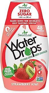 SweetLeaf WaterDrops, Strawberry Kiwi, 1.62 Fl Oz (Pack of 1)