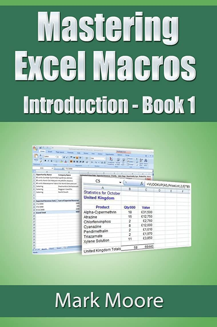 素子切手不規則性Mastering Excel Macros: Introduction (Book 1) (English Edition)