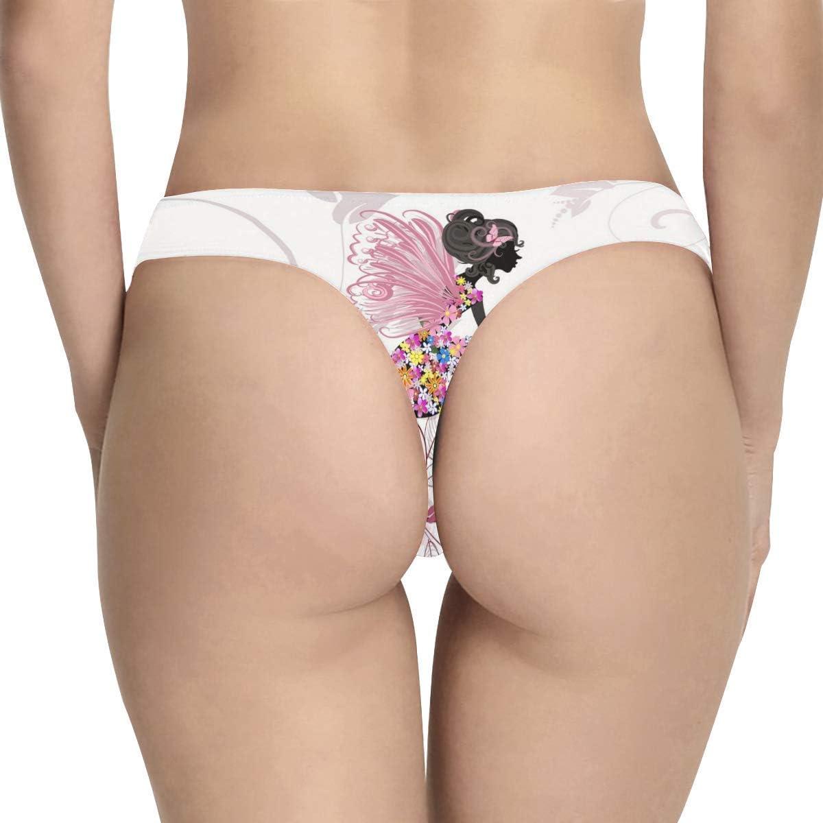 Custom Rainbow Classic Thong Underwear for Women