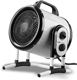 RUIX Calefactor - Calentador De 3KW, Calentador Eléctrico Doméstico, Soplador De Aire Caliente Industrial, Calentador Comercial Portátil