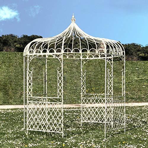 The Original Deco Gloriette Iron Garden Arbour Pergola Iron Garden Metal Blache Diameter 250 cm