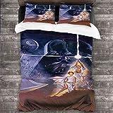 DRAGON VINES 4 piezas de ropa de cama de tamaño completo Cuna Hojas de Star...
