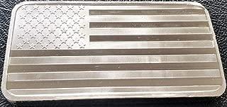 SilverTowne American Flag 10 Oz. Silver Bar