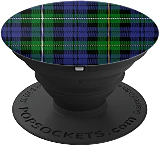 Campbell Of Loudoun Tartan Plaid - PopSockets Grip and Stand for Phones and Tablets