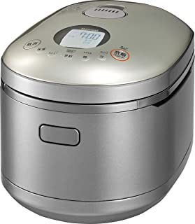 Cook Takumi with timer jar gas cooker 11 Go of Rinnai direct fire, Pearl Silver, propane gas LPG for RR-100MST2 (PS) LP
