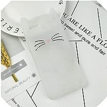 Case for iPhone 4 4S SE 5 5S 5C 6 6S 7 8 Plus X XR XS Max Squishy Cat Cover Mobile Phone Bags,HuXu Clear Cat,for iPhone 7,HuXuBlack,foriPhone5S,HuXuClear,foriPhone8